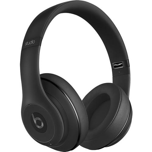 Beats Studio Wireless Over-Ear Headphones - Matte Black [Matte Black, Standard Packaging] $159.99