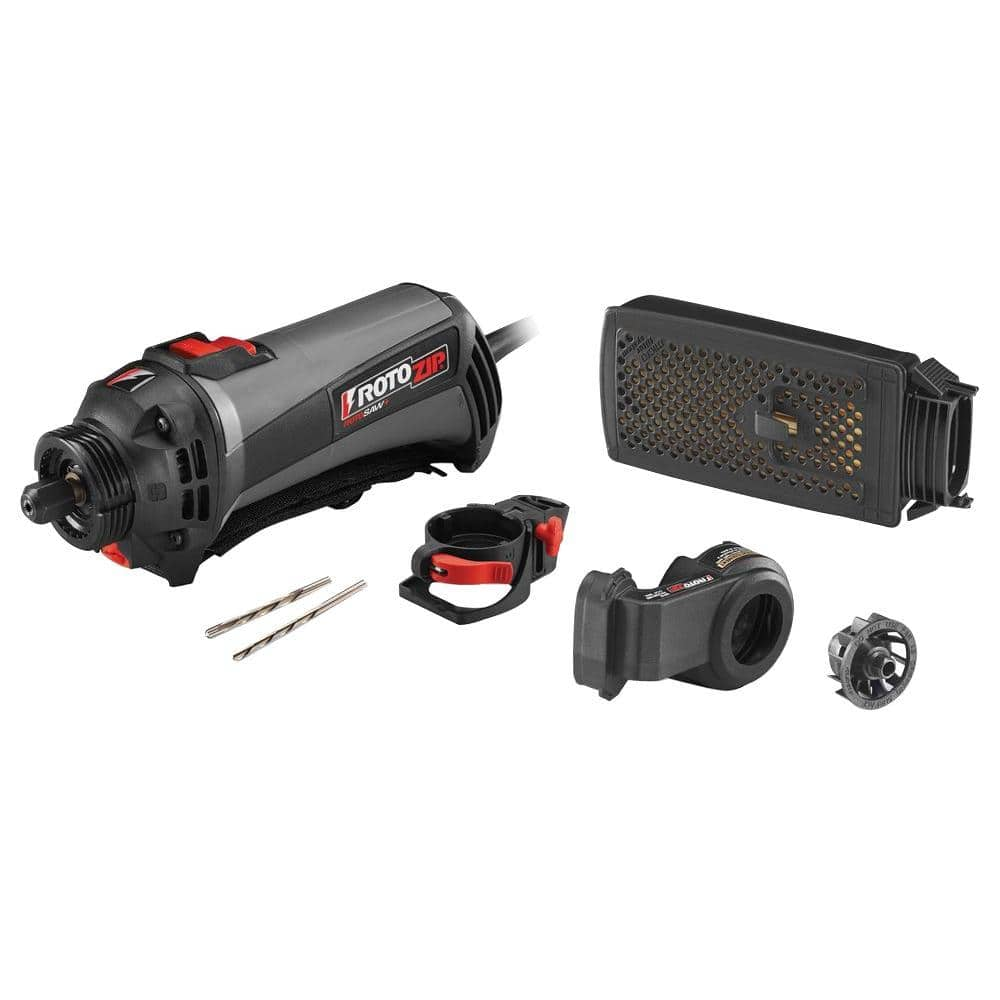 RotoZip RotoSaw+ 7-Piece Variable Speed Spiral Saw Kit $49.99. Regular $99