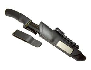 Morakniv Bushcraft Carbon Steel Survival Knife with Fire Starter and Sheath $42.72 shipped at Amazon! Best price EVER