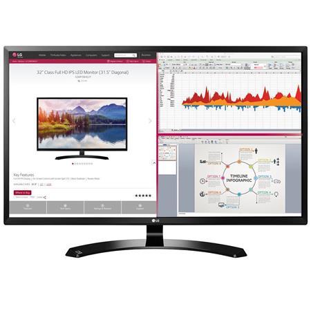 LG 32MA68HY-P 32 inch Class Full HD IPS LED Computer Monitor $204.99 Adorama