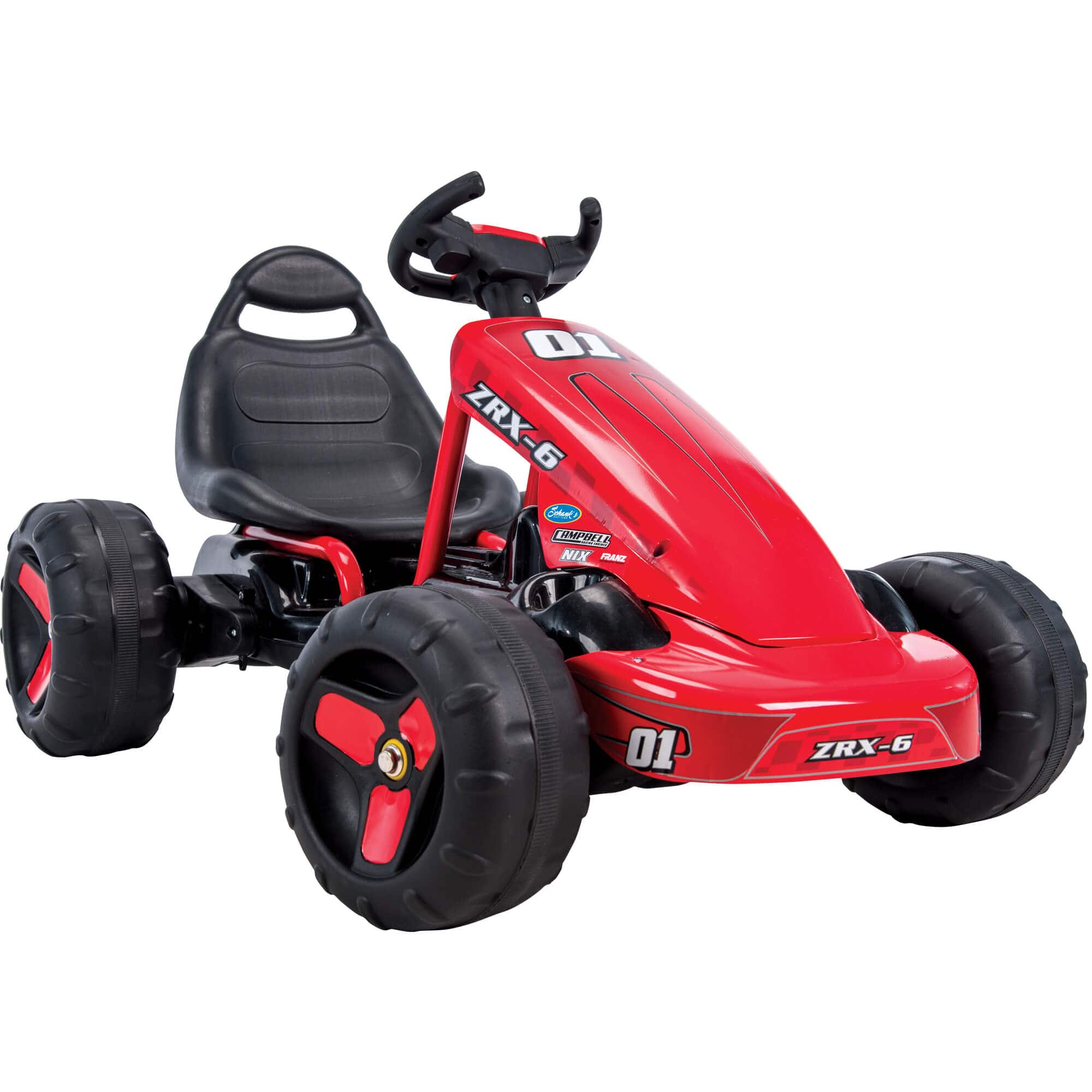Walmart - Huffy ZRX-6 6V Battery-Powered Electric Pedal Go-Kart, Red In store -$25