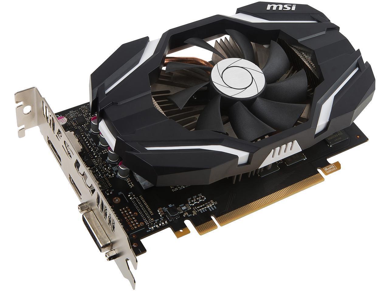 EVGA GeForce GTX 1060 GAMING, ACX 2.0 (Single Fan), 6GB GDDR5, DX12 OSD Support (PXOC),6.8 Inches $230 AC
