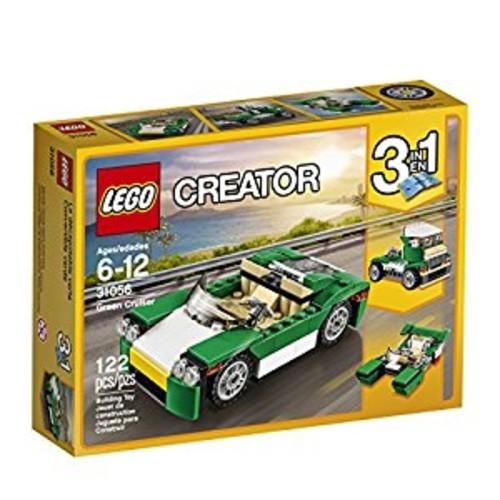 LEGO Creator Green Cruiser 31056 Building Kit for $7.99 at Amazon