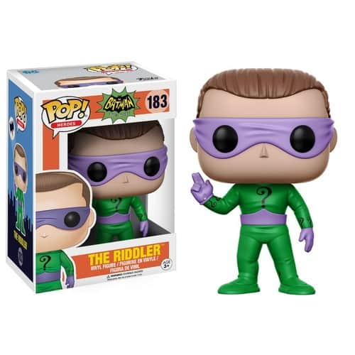 Funko POP Heroes DC Heroes Riddler Action Figure (Style and Color May Vary) for $3.63 at Amazon