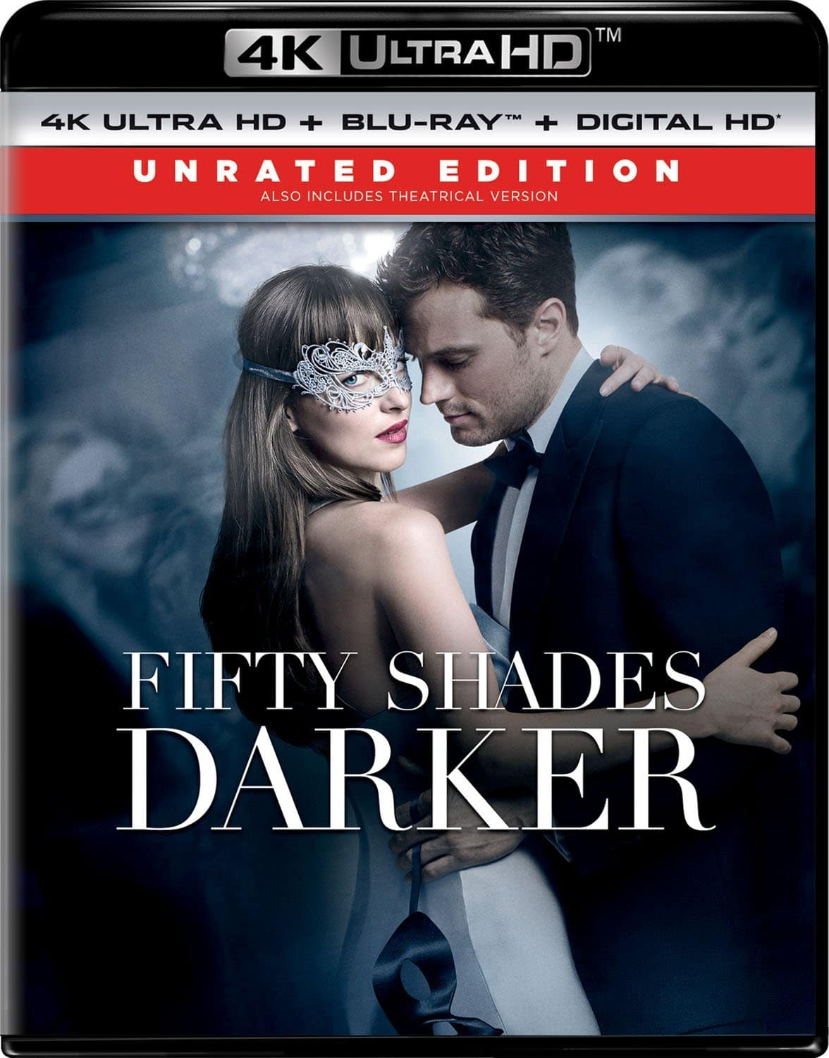 Fifty Shades Darker [Blu-ray + 4K] for $16.99 @Amazon