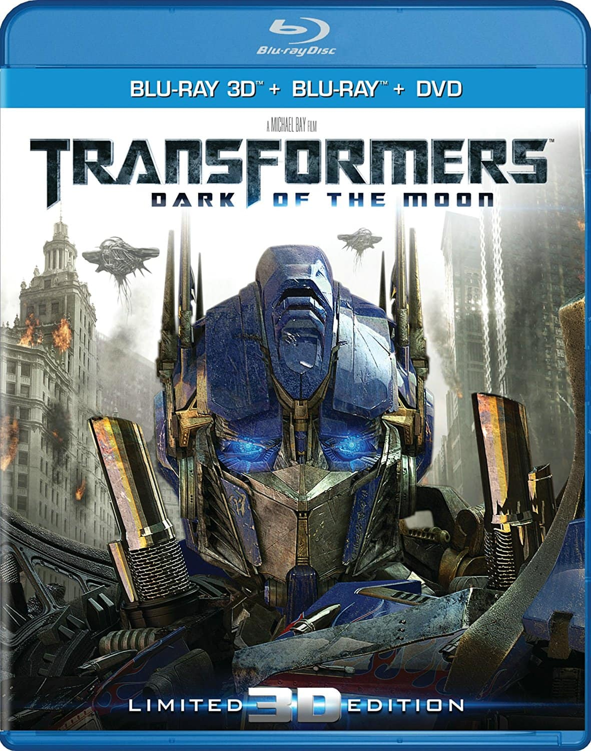 3D Blu-ray Movies: Transformers: Dark of the Moon & Terminator Genisys & more $9.99 each at Amazon