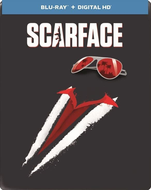 Scarface 1983 [Limited Edition] [Includes Digital Copy] [UltraViolet] [SteelBook] [Blu-ray] for $7.99 @Best Buy