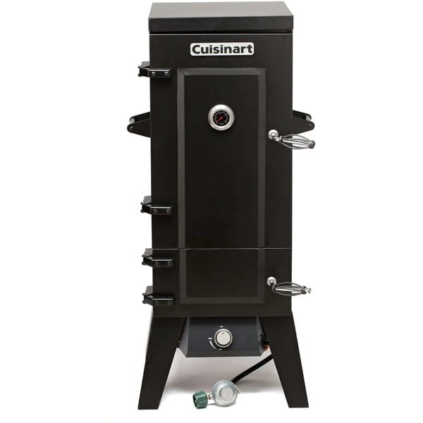 "Cuisinart COS-244 Vertical 36"" Propane Smoker, Black (Amz Prime Only) $124.01"