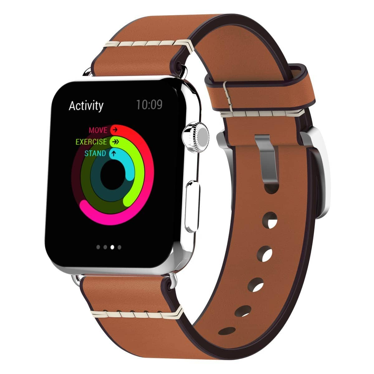 Apple Watch Band, Premium Vintage Genuine Cowhide Leather Replacement Wristbands Starting @ $6.98
