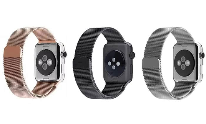 Apple watch band stainless steel, just $2.96/pcs for 42mm black color