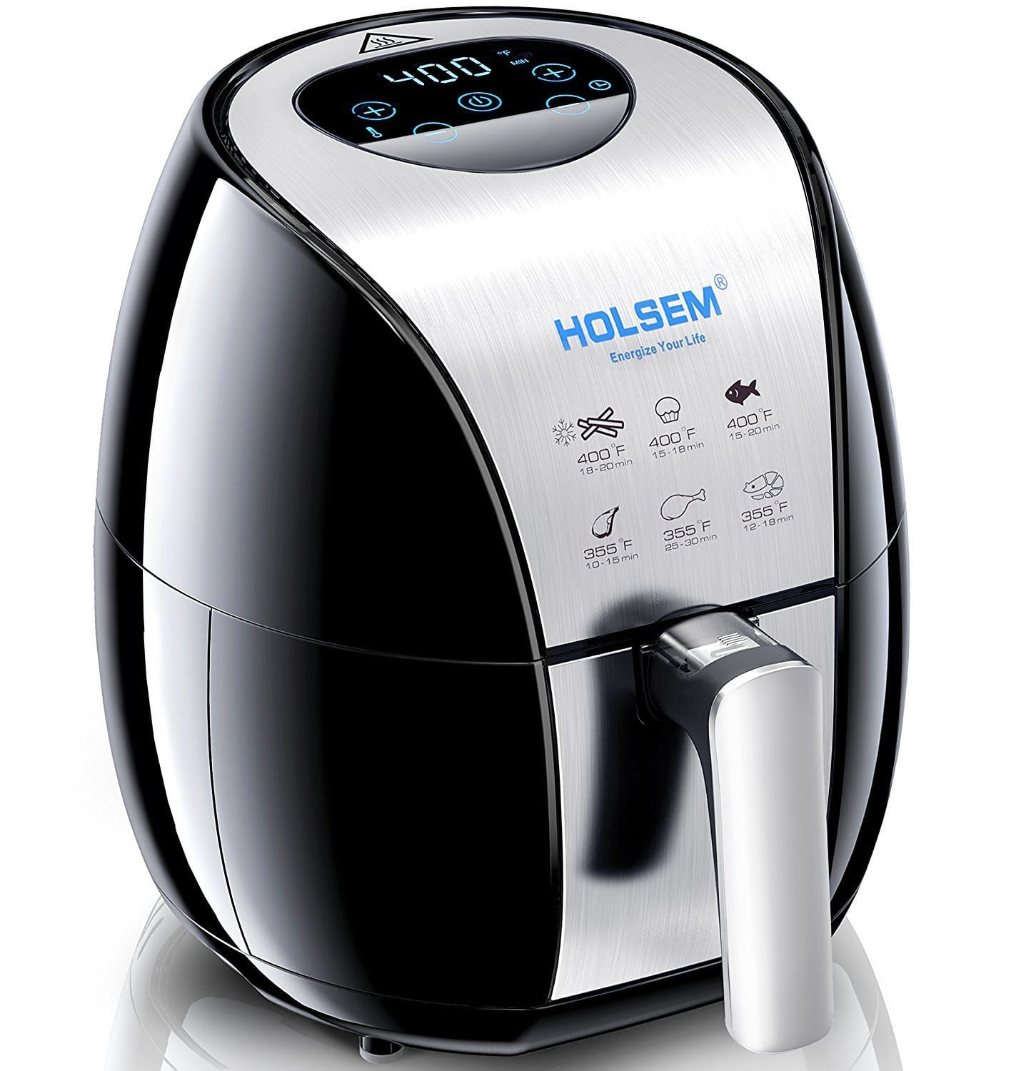 Air Fryer with Rapid Air Circulation System 3.4 QT Capacity $64.49 AC + FS Prime