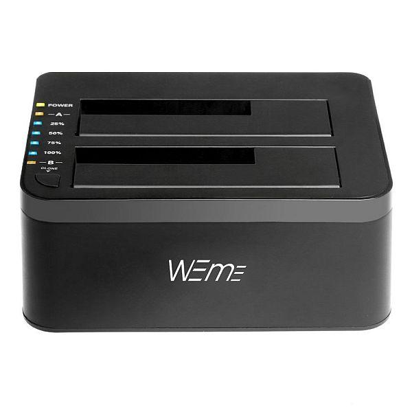USB 3.0 to SATA Dual-Bay External Hard Drive Docking Station $21.99 AC + FS Prime