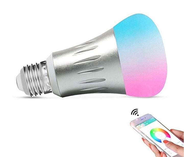 Smart WiFi Light Bulb - Dimmable 6.5W RGG (50w equiv) - $14.99 ac + FS