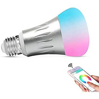 Smart WiFi Light,Smart Bulb Dimmable 6.5W RGB Led Bulb 50W Equivalent - $14.89 AC + FS