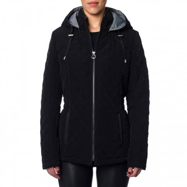 Laundry By Design Short Zip Front Quilted Jacket - $30 + Free Shipping at Coats Direct