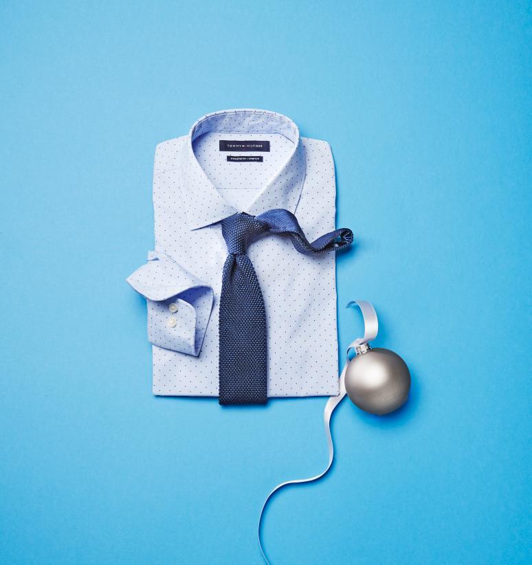 50% Off Select Men's Designer Dress Shirts From Tommy Hilfiger $32.50 - $42.50