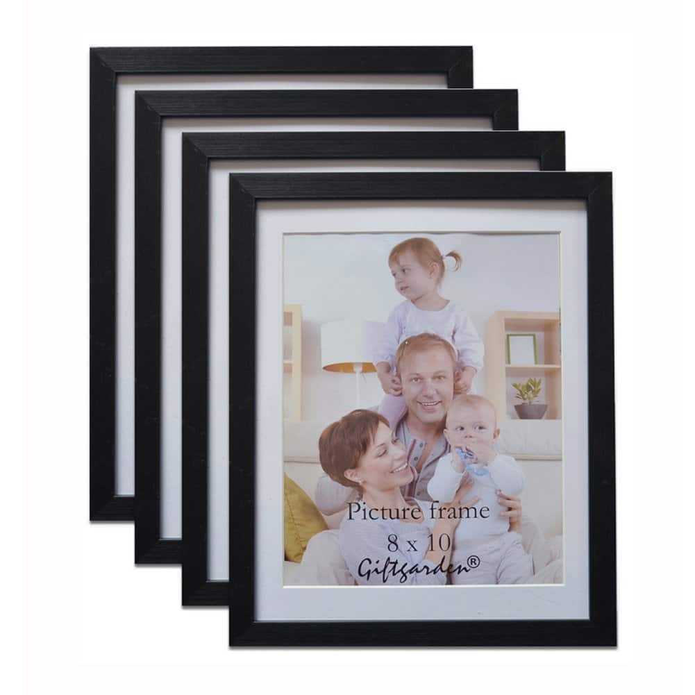 Set of 4: Black 8x10 Picture Frames - $18.16 - Free Shipping w/Prime