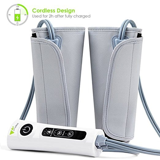 Leg Massaging Air Compression Wraps - $41.99 w/Code + Free Shipping w/Prime