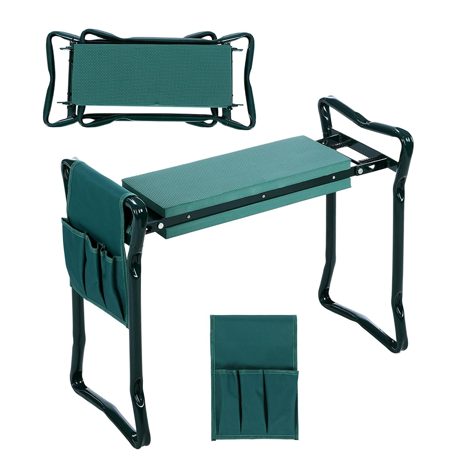 Folding Garden Seat and Kneeling Pad with Tool Pouch - $18.19 w/Code + Free Shipping