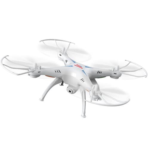 Syma 6-Axis Remote Controlled Quadcopter Drone UFO with Camera (White) - $29.98 w/Code + Free Shipping w/Prime