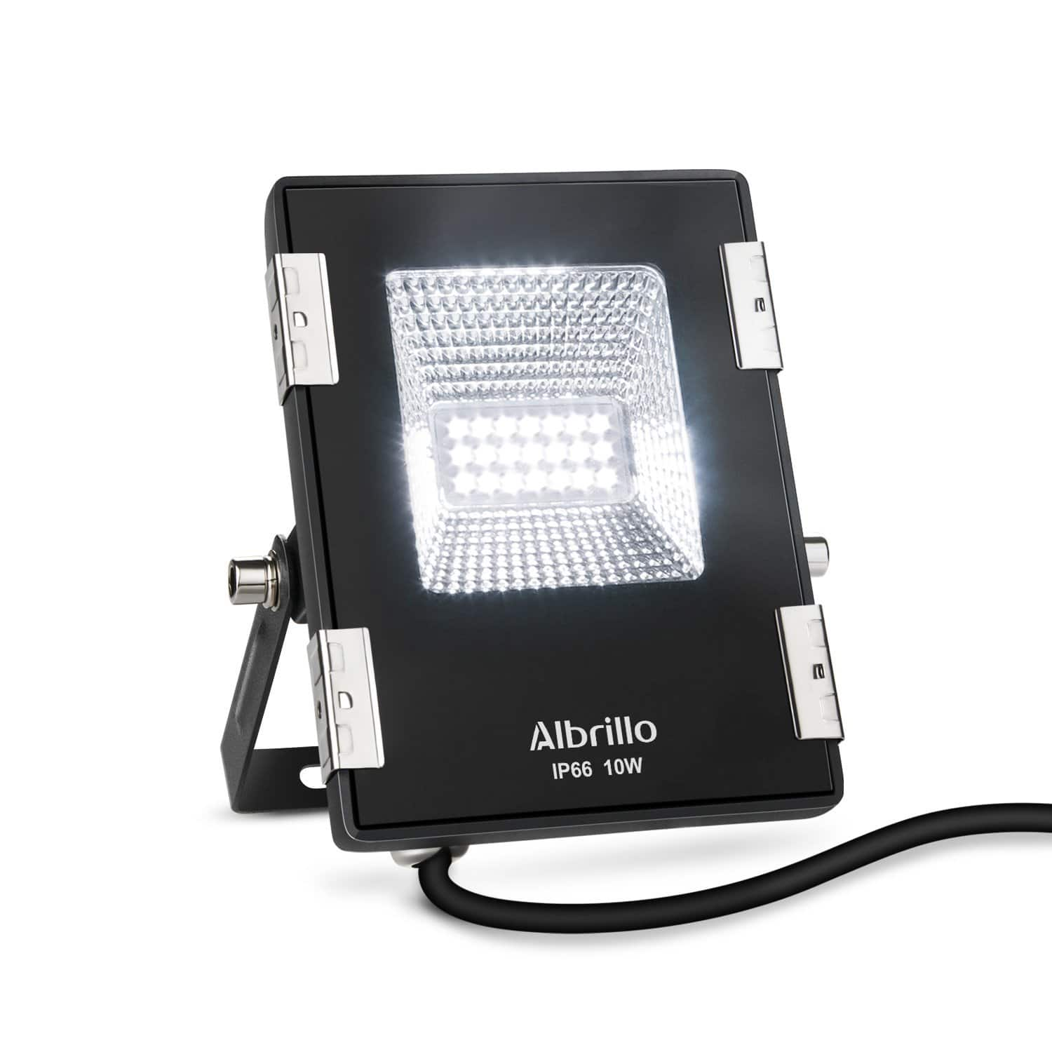 10W LED Outdoor Flood Light (Daylight White) - $5.99 + Free Shipping w/ Prime