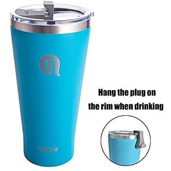 30oz Double Wall Vacuum Insulated Tumbler - $7.50 w/Code + Free Shipping with Prime