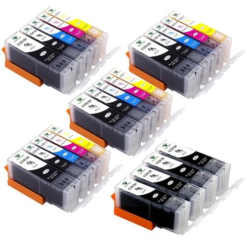 40pk PGI-250XL CLI-251XL Ink Cartridges for Canon PIXMA iP7220 iP8720 iX6820