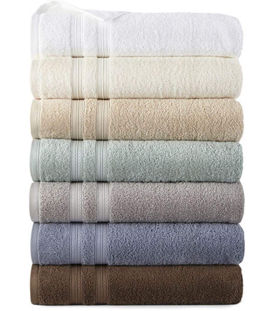 JCPenney: Home Expressions Solid Bath Towels & More $2.99