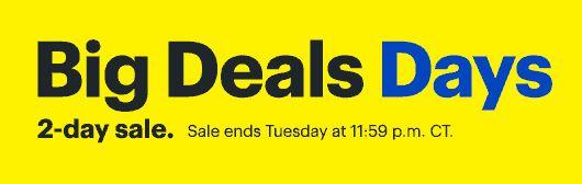 Best Buy: Big Deals Days