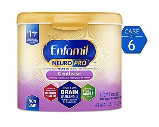 Prime Day: 6-Pack Enfamil NeuroPro Gentlease Infant Formula - 20% Off with Coupon w/ Subscribe & Save + Free Shipping with Prime $118.18