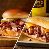 Dickey's Barbecue Pit: Enjoy a $3 Pulled Pork Classic OR $6 Westerner Sandwich
