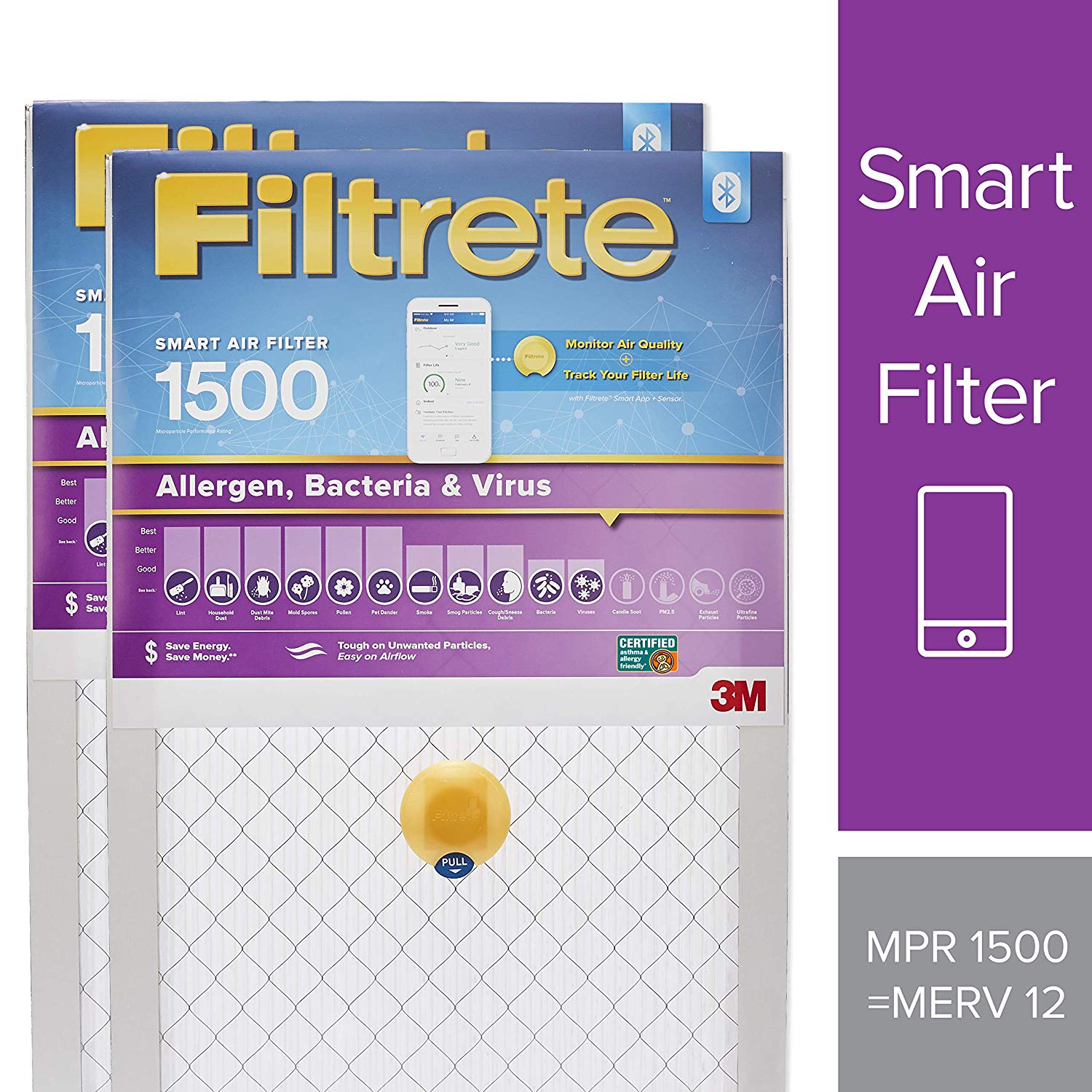 Amazon: 10% Off 2-Pack Filtrete Smart Filters - From $37.10 + Free Shipping w/ Prime
