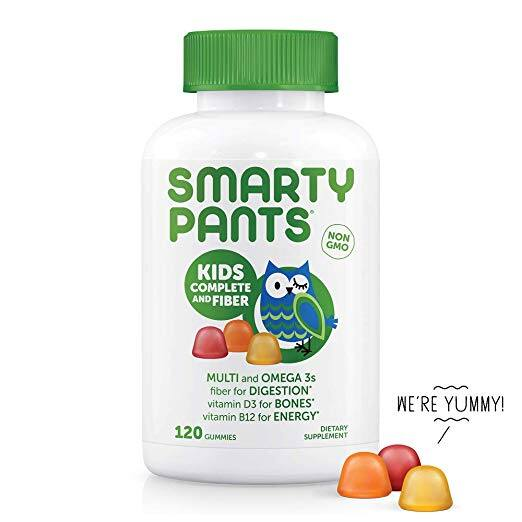 Amazon: Up to 40% Off SmartyPants Kids Complete & Fiber Gummy Vitamins (120 count) - $11.90 + Free Shipping w/ Prime