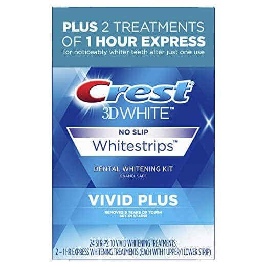 Amazon: Deal of the Day - 24 Strips Crest 3D Whitening Vivid Plus + Free Shipping w/Prime $23.99