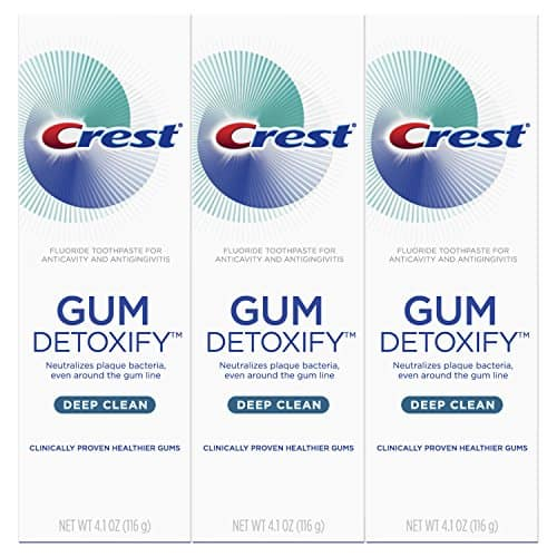 Amazon: Crest Toothpaste Gum Detoxify Deep Clean, 4.1oz (Pack of 3) - $10.49 + Free Shipping w/ Prime