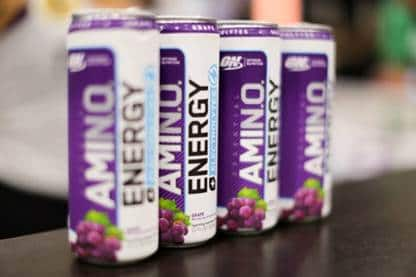 Costco In-Store Only: $5 Off 16 ct. Optimum Nutrition Essential Amino Energy Plus Electrolytes Sparkling Hydration Drink $19.79