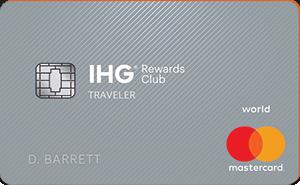IHG® Rewards Club Traveler Credit Card: 60k Points w/ $2k Spent in 1st 3-months