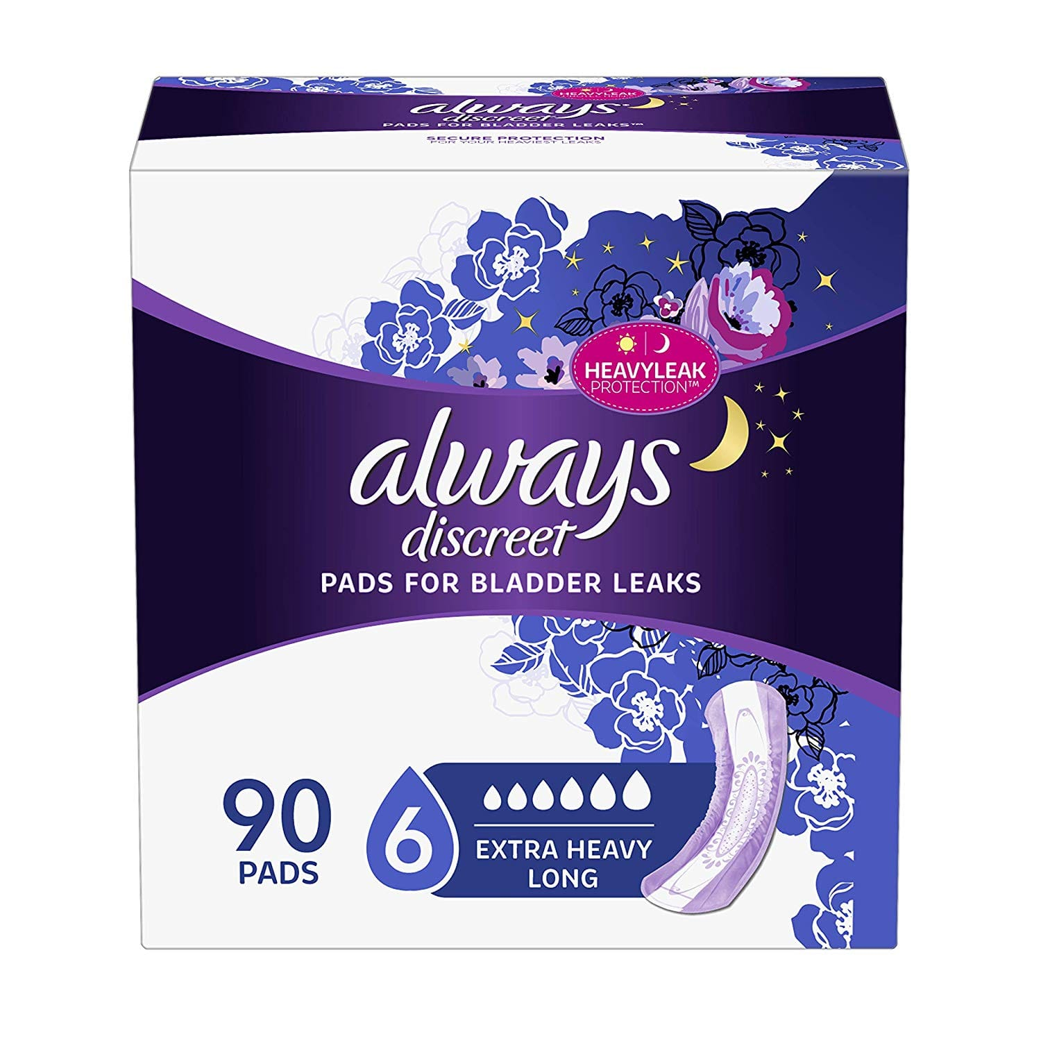 Amazon: Save $3 on Always Discreet Incontinence Pads + Save 5% w/ S&S + Free Shipping w/ Prime
