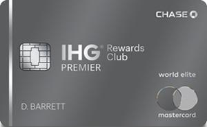 IHG® Rewards Club Premier Credit Card: 125k Points w/ $3k Spent in 1st 3-months