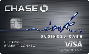 Ink Business Cash® Credit Card: $750 Bonus Cash Back after you Spend $7,500 in the First 3 Months
