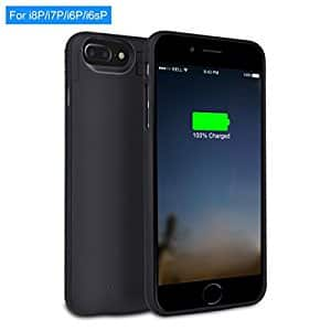 XREXS 4000mAh iPhone 8 / 7 / 6 Plus Rechargeable Charger Battery Case for $18.89 @Amazon
