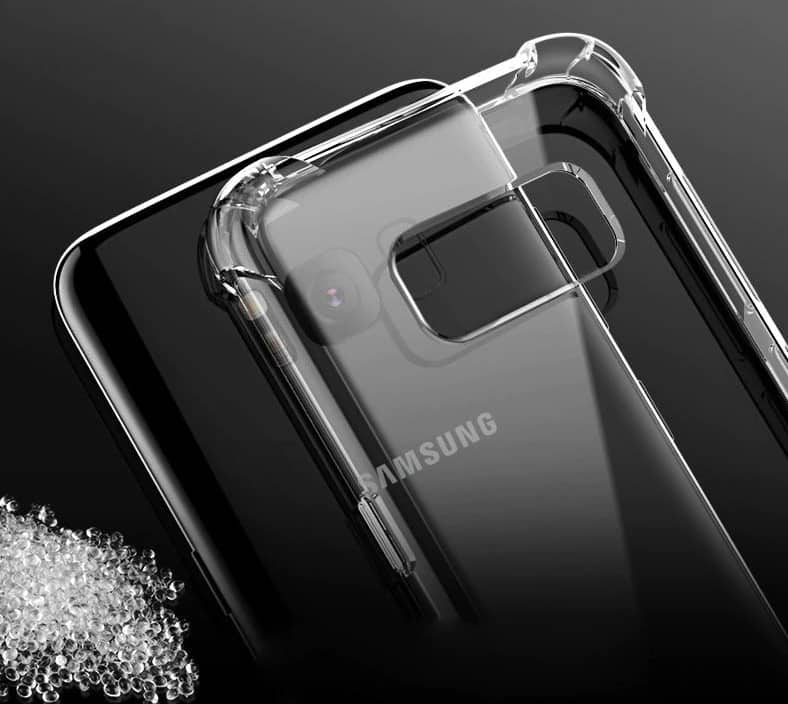 ANTI SHOCK CLEAR CASES FOR SAMSUNG GALAXY S8 S9 PLUS $3.88 @focovida