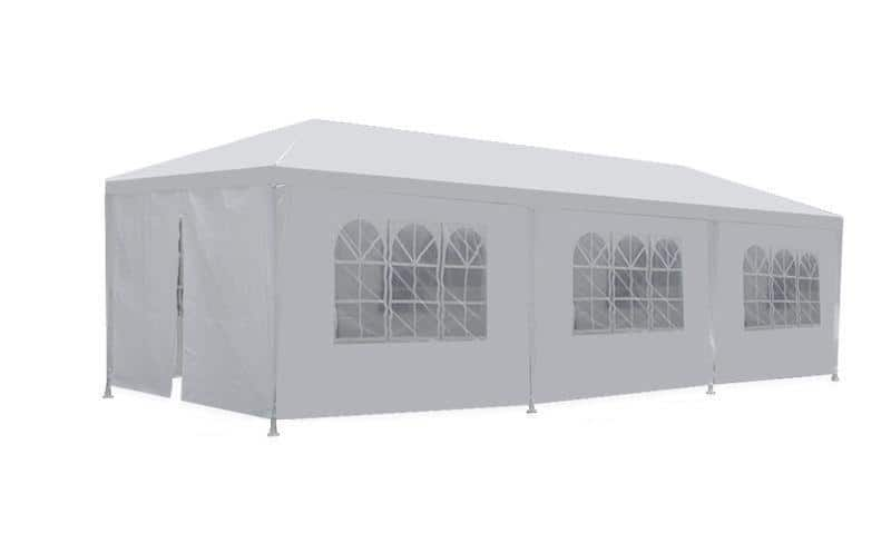 New 10'x30' White Outdoor Gazebo Canopy Wedding Party Tent 8 Removable Walls -8 - $74.99