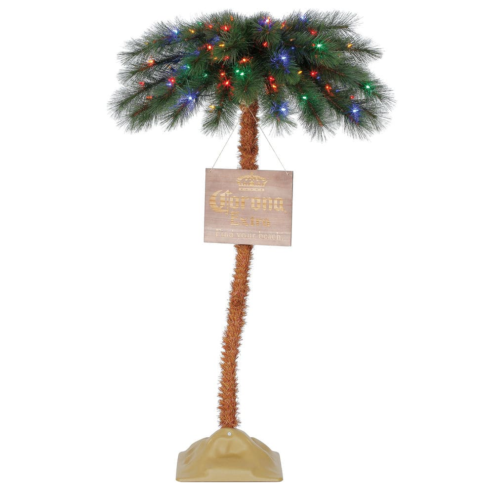 Corona 5 Christmas Palm Tree Led Pre Lit Artificial Motion Activated Xmas 71 99