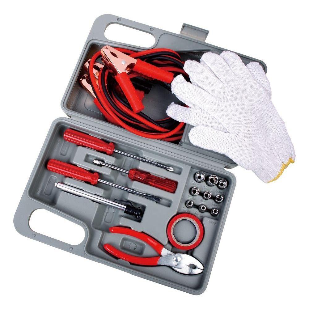 31-Piece Set: Complete Roadside Emergency Kit - $17.49