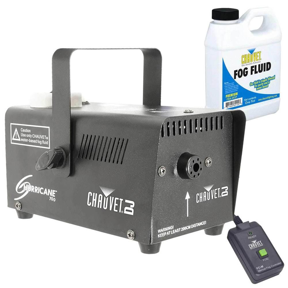 Chauvet H-700 Hurricane 700 Halloween Fog/Smoke Effect Machine + Fluid + Remote - $26.99