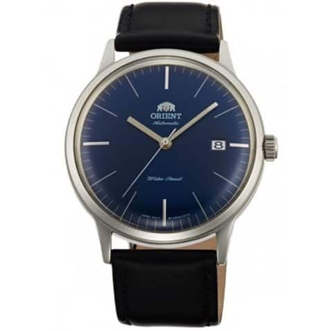 Orient Bambino Version 3 Blue Dial Black Leather Band Men's Watch  $125.00 + FS