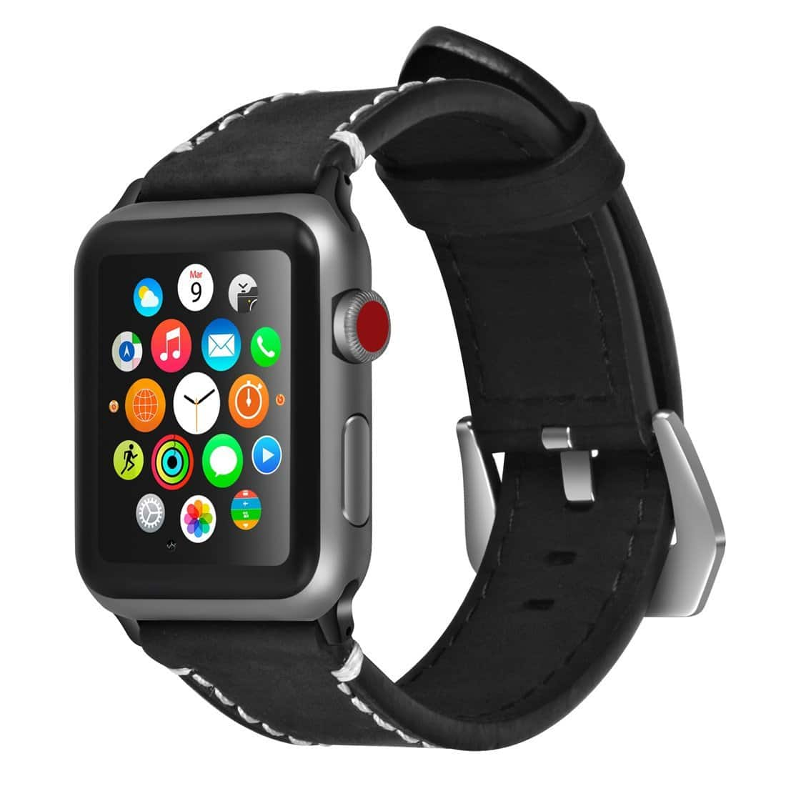 Apple Watch 38mm/42mm Genuine Leather Bands 50% Off - $4.99