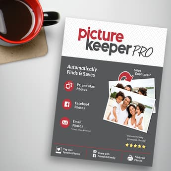 Picture Keeper Pro 500GB Computer Backup Solution - $99.99 + FS