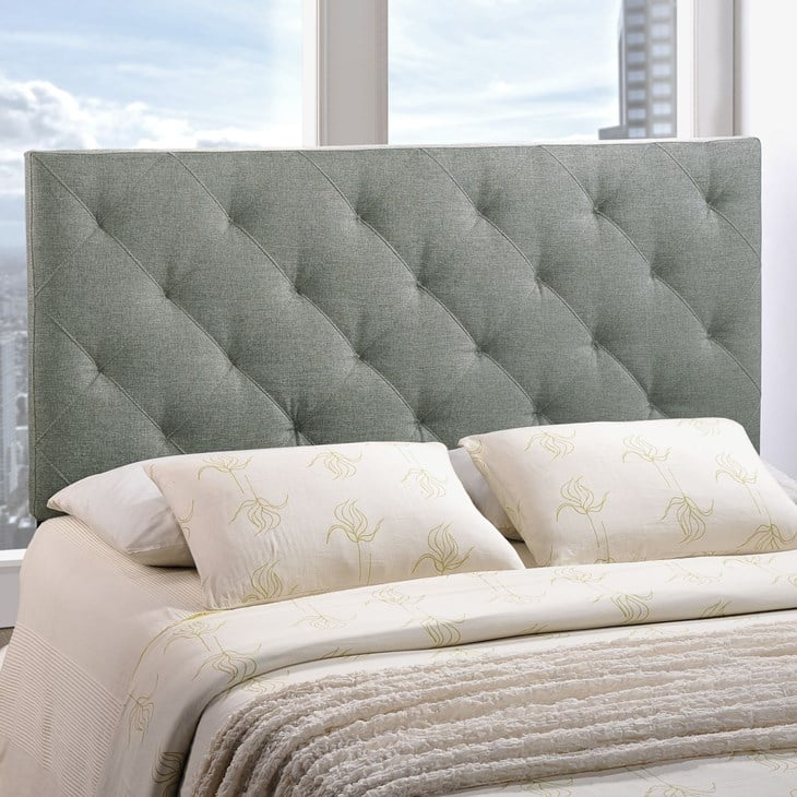20% Off Queen-Size Upholstered Headboards + FS $100.4